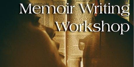 MEMOIR WRITING WORKSHOP w/author Maureen Stanton tickets