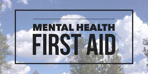 Mental Health First Aid Night - Parent Ed Presentation - November 13, 2019