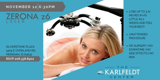 Lose Inches Immediately with the Zerona Fat Loss Laser Open House