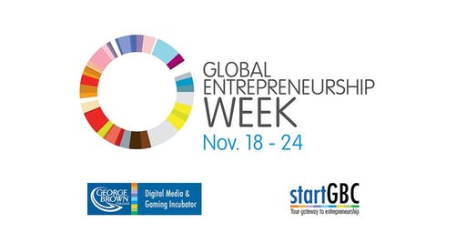 Global Entrepreneurship Week 2019 - School of Design