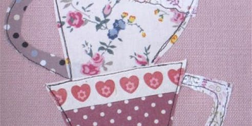 Make and appliqué tea towel with Yoyo Textiles - £20