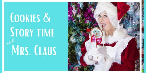 Cookies & Story Time with Mrs. Claus