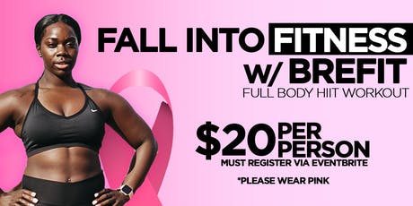 Fall into Fitness w/BREFIT Wiley tickets