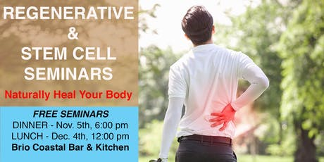 FREE Seminars on Stem Cell & Regenerative Therapy tickets