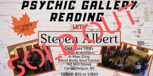 Steven Albert: Psychic Gallery Event - A-Mae-Zing 10-18