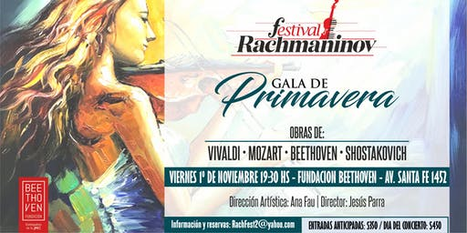 Festival Rachmaninov - Gala de Primavera