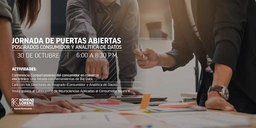 Jornada de Puertas Abiertas - Consumidor y Analítca (24 Octubre 2019)