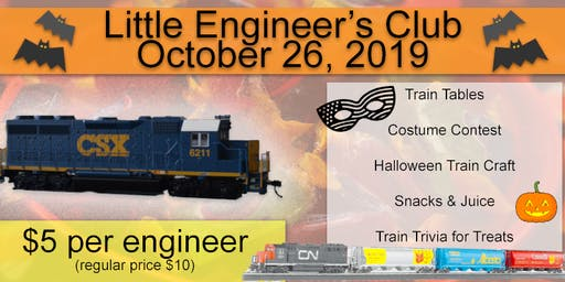 Little Engineer's Club - Halloween Event