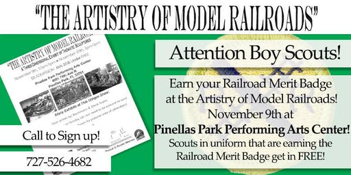Railroad Merit Badge at the Artistry of Model Railroads' show
