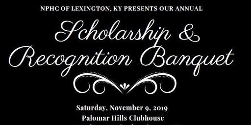 Annual NPHC of Lexington, KY Scholarship & Recognition Banquet