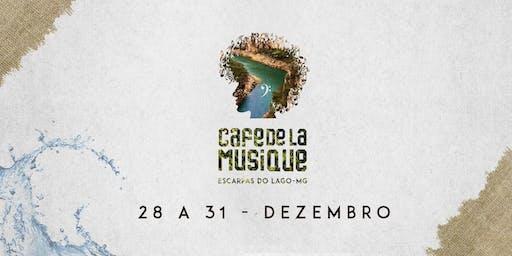 Cafe de La Musique Escarpas do Lago - Inauguração 28/12