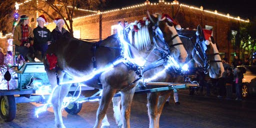 2019 Holiday Carriage and Wagon Rides-Ennis TX