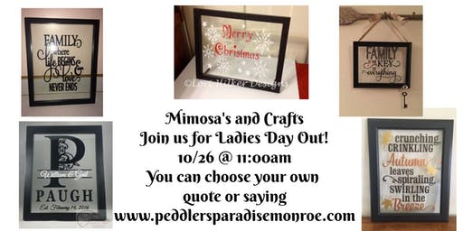 Mimosa's and Crafts