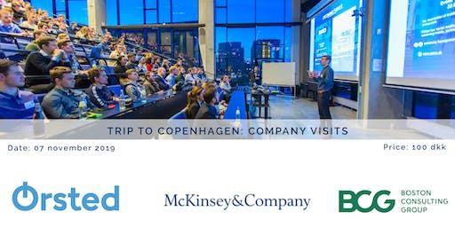 AMCA x BCG x Ørsted x McKinsey – The consulting event