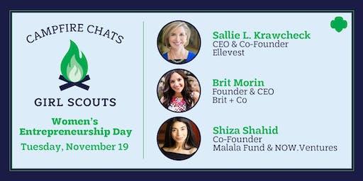 Women's Entrepreneurship Day Campfire Chat
