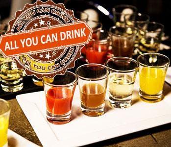 INTERNATIONALS FRIDAYS ALL U CAN DRINK SOUTH BEACH