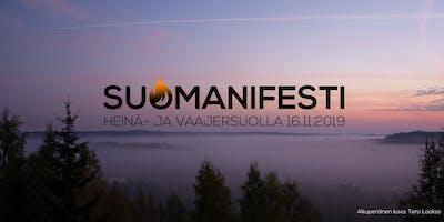 Suomanifesti - Avoin kokous Laikun kulttuuritalolla