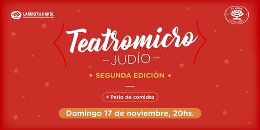 Teatromicro Judío - 2da Edición