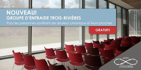 AQDC : Groupe d'entraide Trois-Rivières - jour tickets