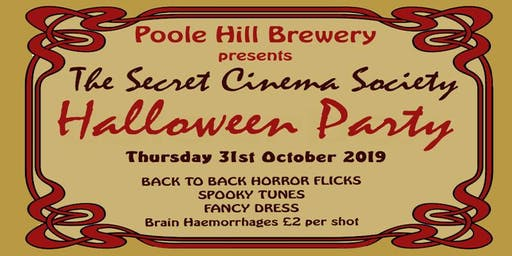 The Secret Cinema Society - Halloween Party