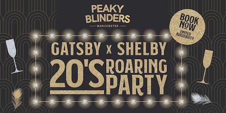 NYE - Peaky Blinders  MCR - 20s Roaring Party tickets