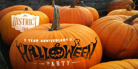 The District Tap Downtown Halloween Bash tickets
