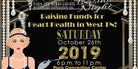 Paris and Henry County Healthcare Foundation Casino Night tickets