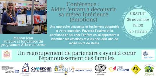 Conférence : Aider l'enfant à découvrir sa météo intérieure (émotions)