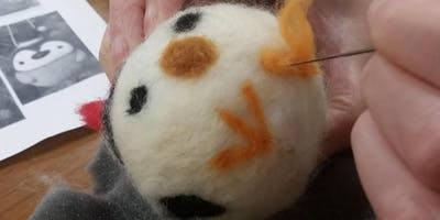 Felting for Beginners: Round Ornaments - for Teens & Adults