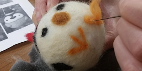 Felting for Beginners: Round Ornaments - for Families & Friends ( Ages 9+) tickets