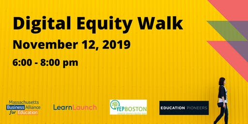Digital Equity Walk at LearnLaunch