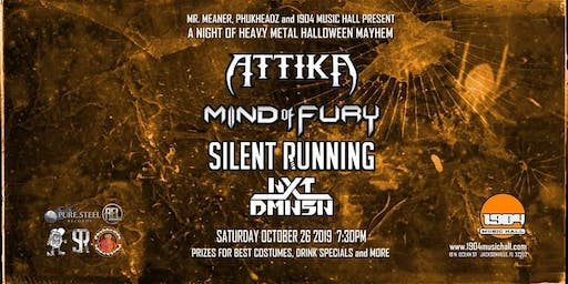 Silent Running, Mind of Fury, Attika, and NXT DMNSN at 1904
