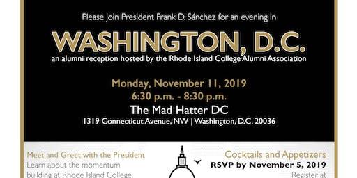 RIC Alumni Reception in Washington, D.C.