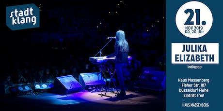 «stadtklang» mit Julika Elizabeth / live im Haus Massenberg Tickets