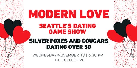 Modern Love: Silver Foxes and Cougars Edition — Dating Over 50 tickets