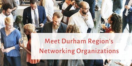 Meet Durham Region's Networking Organizations tickets
