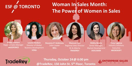Woman In Sales Month: The Power of Women in Sales tickets