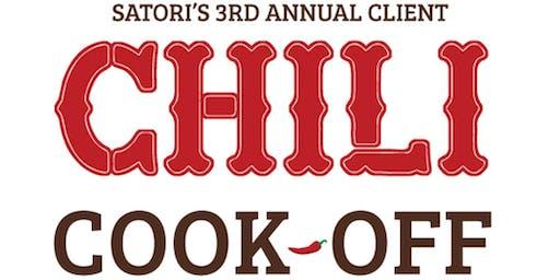 Satori's Third Annual Client Chili Cook Off