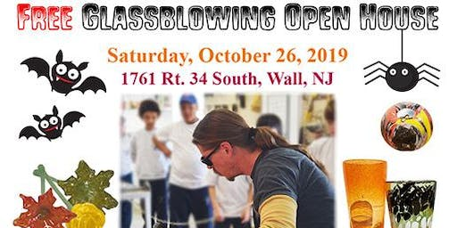 Open House Glassblowing October 26th, 2019