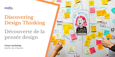 Design Thinking: 4 hour discovery workshop - atelier découverte tickets