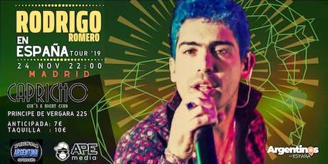 """TRIBUTO A RODRIGO """"EL POTRO"""" + FIESTA en Madrid entradas"""
