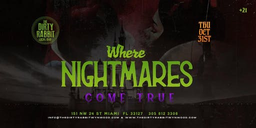 Halloween Night at The Dirty Rabbit: Where Nightmares Come True