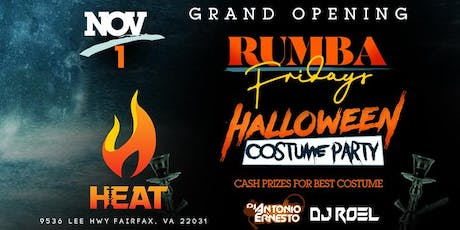 Grand Opening l Rumba Friday's at Heat Lounge tickets