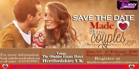 Made2Love Couples Retreat & Dinner Dance2020 tickets