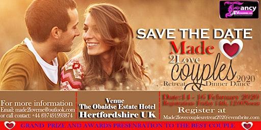 Made2Love Couples Retreat & Dinner Dance2020