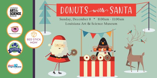 2019 Donuts With Santa {Red Stick Mom}