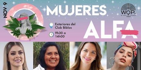 WOMEN OF POWER , Edición ¨MUJERES ALFA¨ entradas