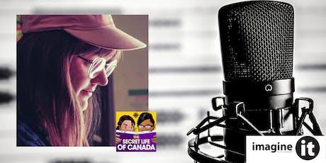 ImagineIt Podcasting Workshop with Katie Jensen tickets