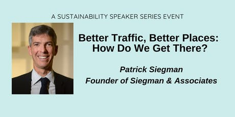 Less Traffic, Better Places: How Will We Get There? tickets