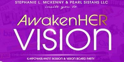 AwakenHER VISION Board Gathering
